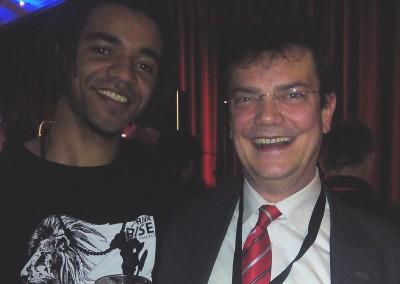 Ulrich Puls und John M. Lwanga (Culcha Candela)