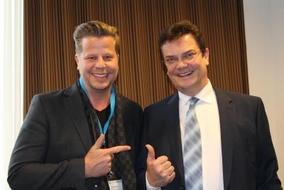 Ulrich Puls und Alex Fischer