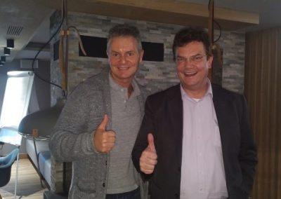 Ulrich Puls und Dirk-Kreuter