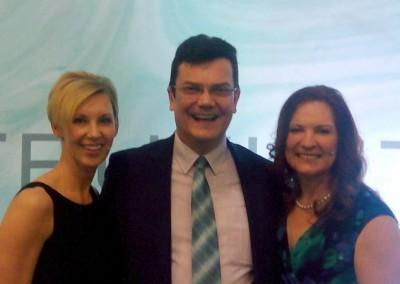 mit Michelle D'Allaird und Dawna Venzon