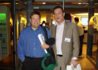 Ulrich Puls und Frank Luntz